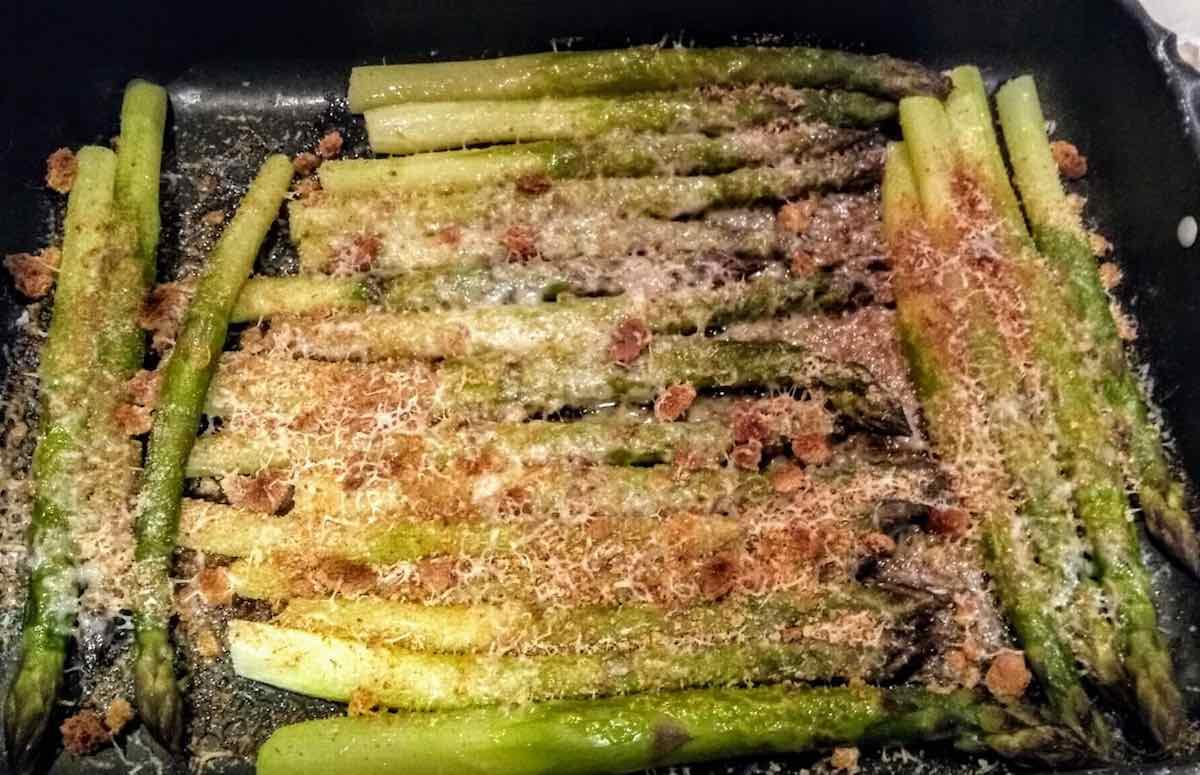 asparagi gratinati al forno
