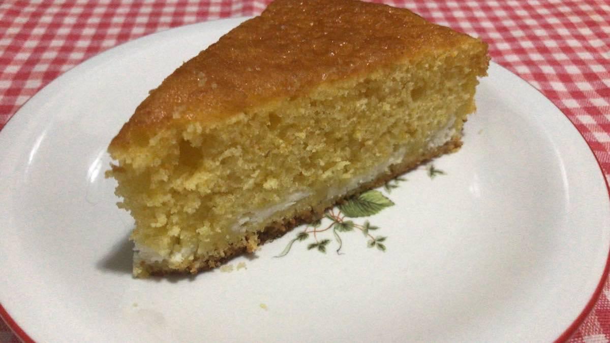 torta di zucca alla crema di ricotta